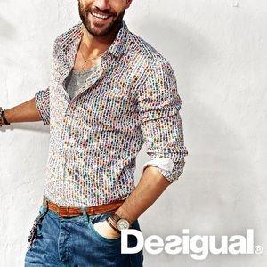 Desigual Men's Button Down Shirt